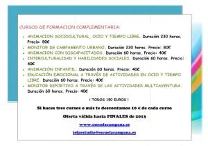 CURSOS DE FORMACION COMPLEMENTARIA OCTUBRE 2013_001