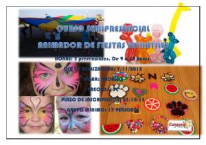 CARTEL CURSO ANIMADOR DE FIESTAS INFANTILES ok_001