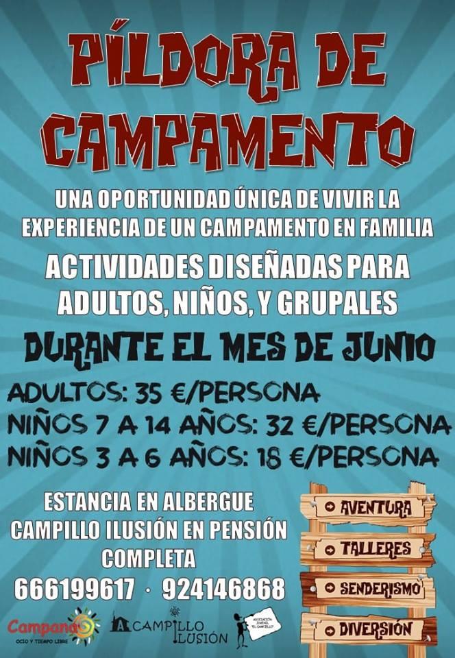 PÍLDORA DE CAMPAMENTO